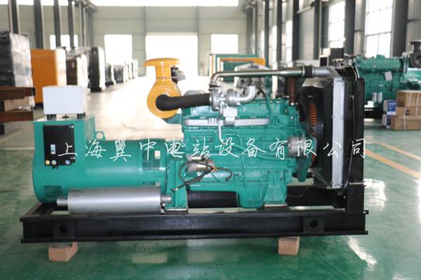 100kw潍柴柴油发电机组图片