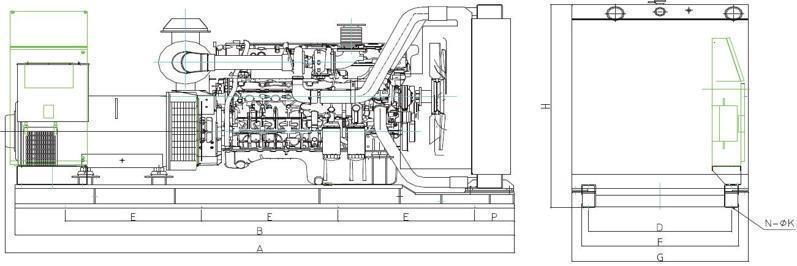 上柴动力450千瓦发电机组规格型号