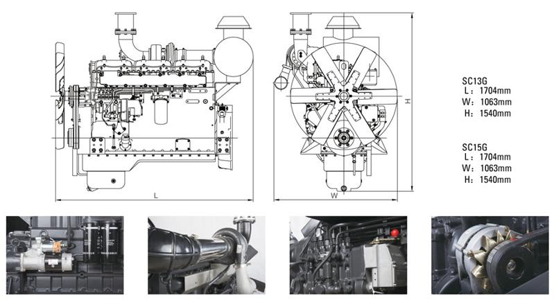 上柴股份500千瓦柴油fun88乐天堂官网体育技术参数规格型号